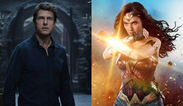 Wonder Woman Buries The Mummy at the Domestic Box Office