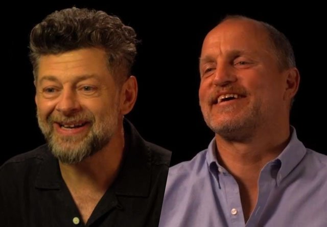 CS Video: Andy Serkis, Woody Harrelson and the Apes Cast