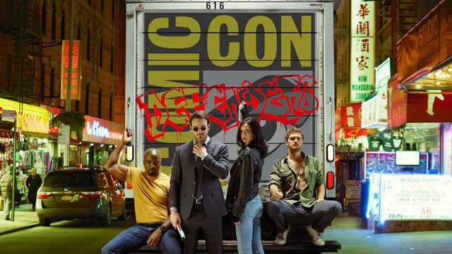 Check out the full Defenders SDCC panel from Hall H. You can follow the Defenders SDCC panel live.