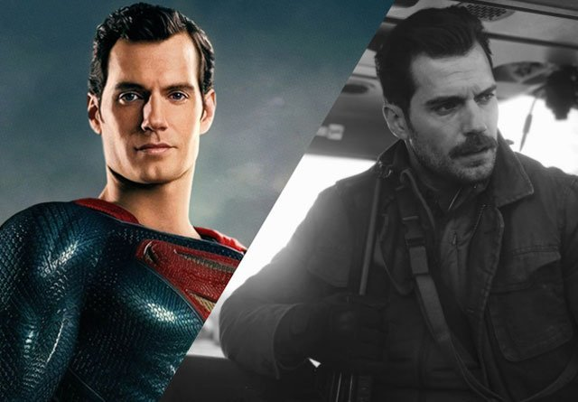 The Justice League Movie Is Currently Battling Henry Cavill's Mustache