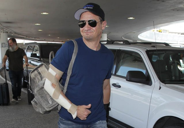 Jeremy Renner Broke Both Arms Filming Avengers: Infinity War