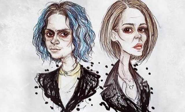 Ryan Murphy has posted a tease about Sarah Paulson and Evan Peters' characters in American Horror Story: Cult