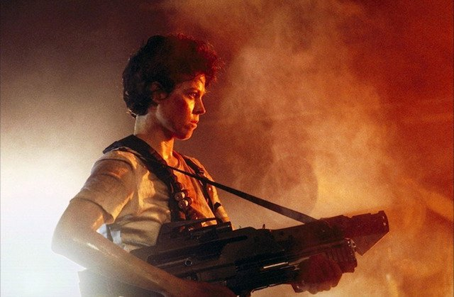 Sigourney Weaver rounds out our ass-kicking women list.