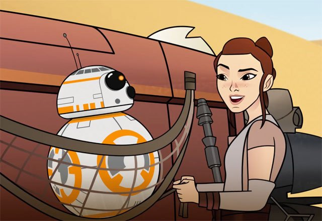 BB-8 Bandits: New Star Wars Forces of Destiny Episode Online