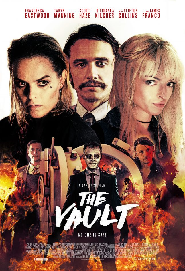 James Franco Unleashes Evil in The Vault Trailer