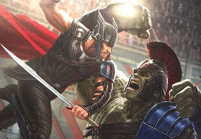 New Thor: Ragnarok Poster Debuts at D23
