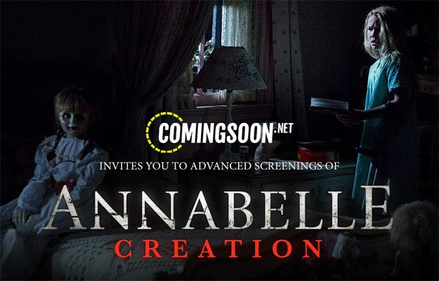 Annabelle: Creation Advance Screenings Passes for July 27!