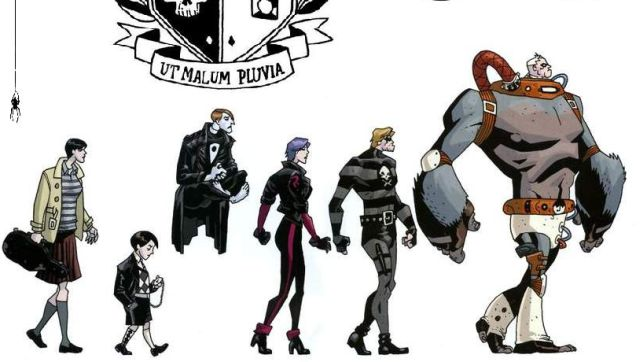Netflix to Adapt Comic Series Umbrella Academy
