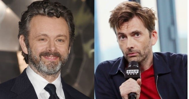 Good Omens: David Tennant, Michael Sheen Cast as Crowley, Aziraphale