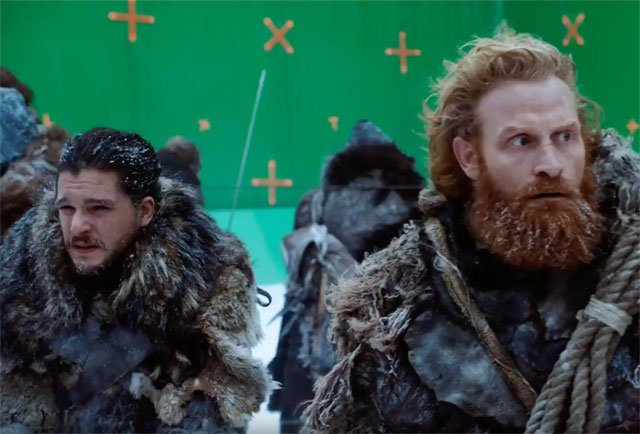 Go Behind the Scenes of Game of Thrones Frozen Lake Battle