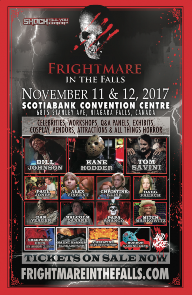 Savini, Hodder and More Coming to Frightmare in the Falls
