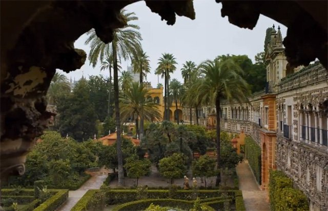 Game of Thrones Map: Dorne in Game of Thrones
