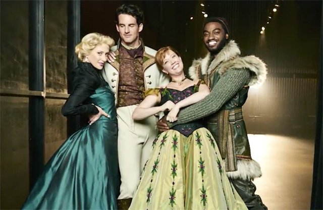 Image result for frozen the musical timothy hughes
