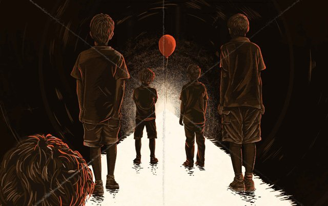 Exclusive IT Movie Art from the Gallery1988 Show
