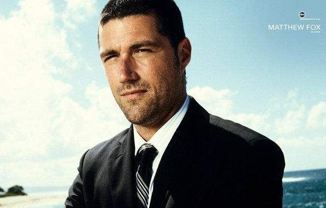 Lost Cast: Matthew Fox as Dr. Jack Shephard