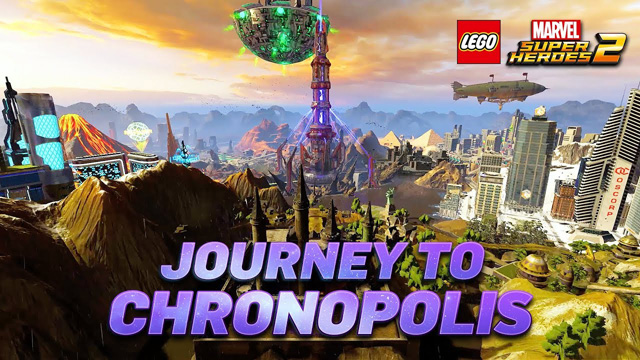 LEGO Marvel Super Heroes 2 gamescom Chronopolis Trailer