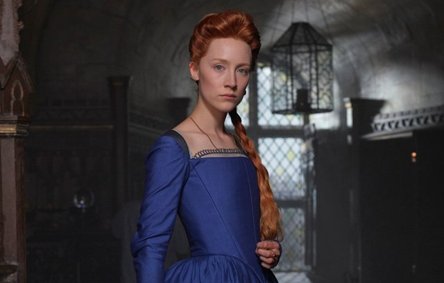 First image of Oscar-nominated actress as Mary, Queen of Scots