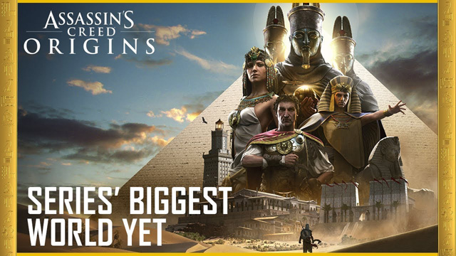 A Look at the Big Assassin's Creed Origins World