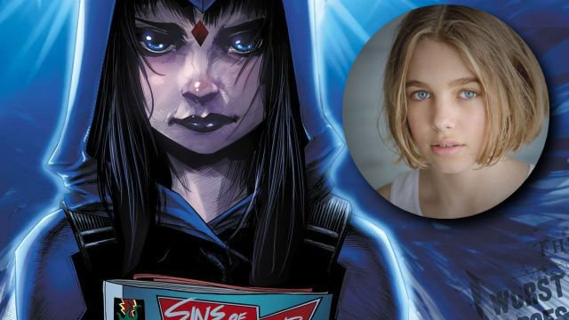 Teagan Croft Cast as Raven in Live-Action Teen Titans