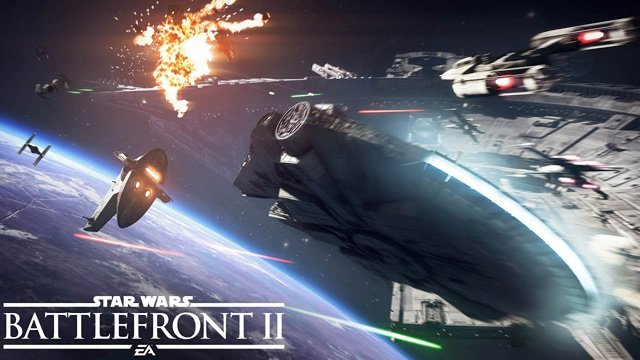 Star Wars Battlefront II Starfighter Assault Gameplay Trailer