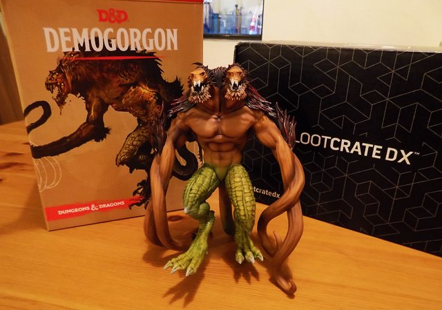 August Loot Crate DX Unboxing Featuring D&D and More!