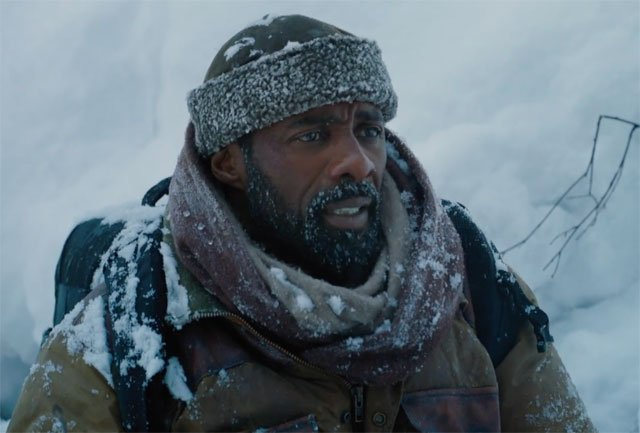 Idris and Kate Survive the First Mountain Between Us Clip