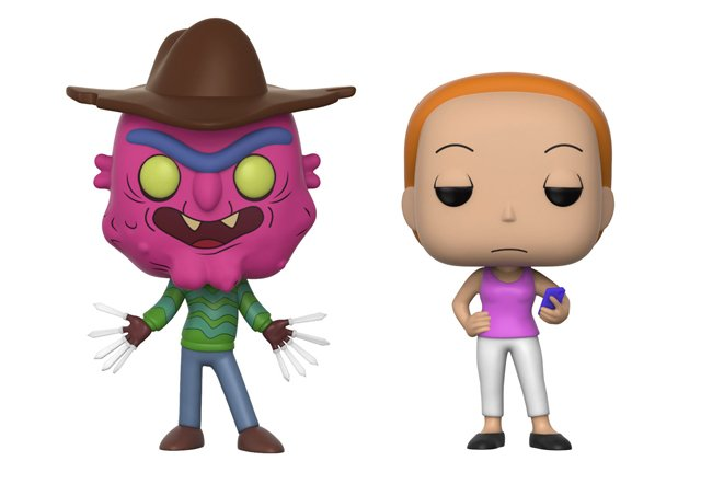 Series 3 Rick and Morty Pop! Vinyls Get Schwifty
