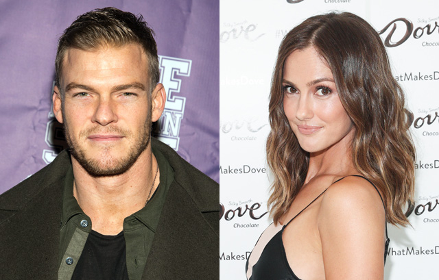 Alan Ritchson and Minka Kelly Cast as Hawk and Dove in DC live-action Titans series
