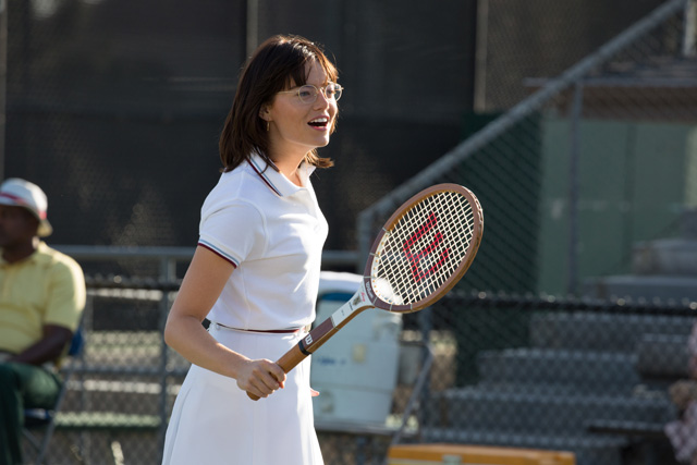 Emma Stone and Steve Carell in Exclusive Battle of the Sexes Photos