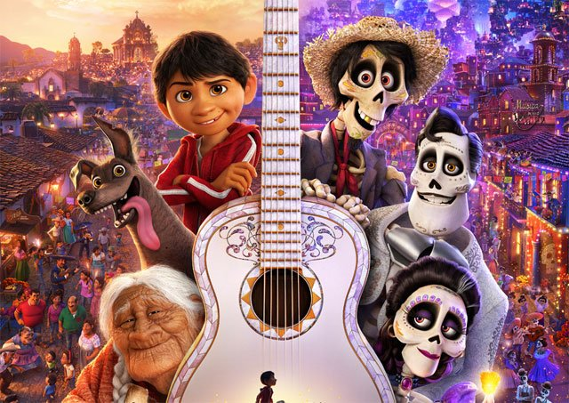 New Coco Poster Celebrates the Day of the Dead, Pixar-Style