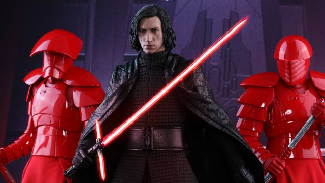 Kylo Ren Hot Toy from Star Wars: The Last Jedi
