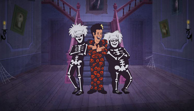 Tom Hanks to Star in David S. Pumpkins Animated Halloween Special