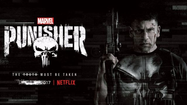 Frank Takes Point in New Marvel's The Punisher Poster
