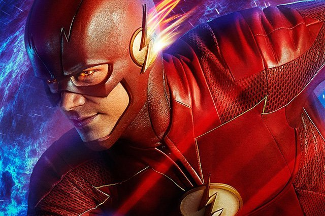 The Flash is Reborn and Recharged in the Season 4 Poster