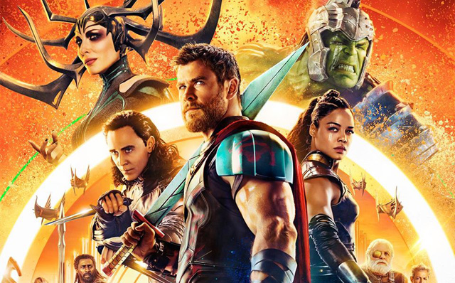The Colorful New Thor: Ragnarok IMAX Poster