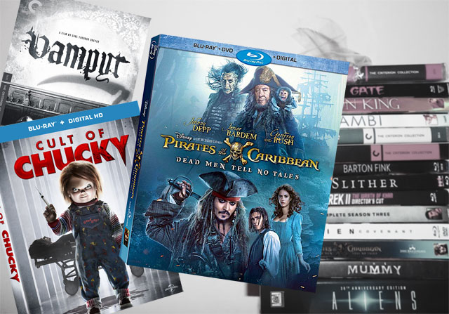 October 3 Blu-ray, Digital and DVD Releases