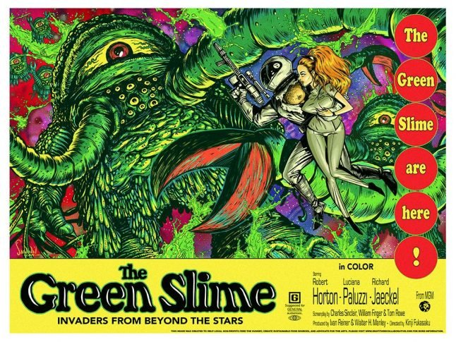 The Green Slime Oozes Back from Warner Archive