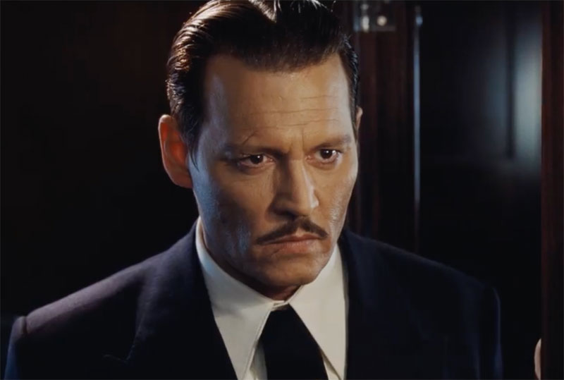 Creepy Murder on the Orient Express Clip With Johnny Depp