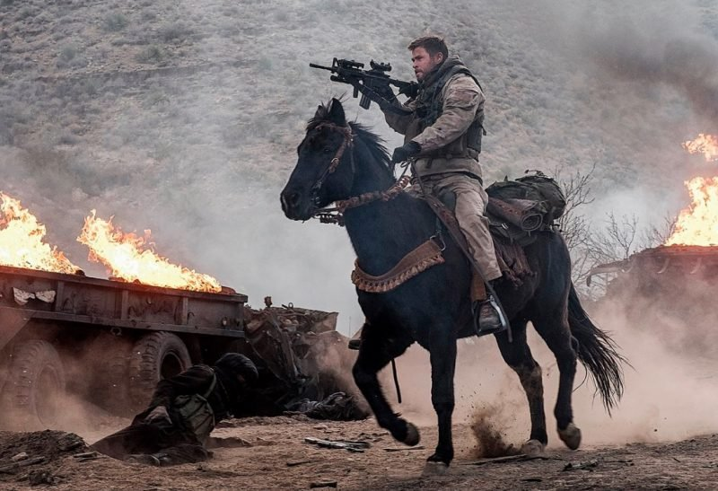 The 12 Strong Trailer Featuring Chris Hemsworth and Michael Shannon