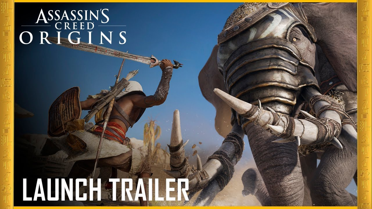 Assassins's Creed Origins Launch Trailer Released