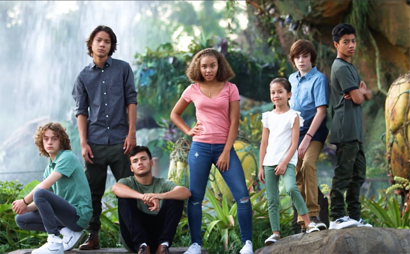 Watch the Avatar Next Generation Cast Visit Animal Kingdom's Pandora