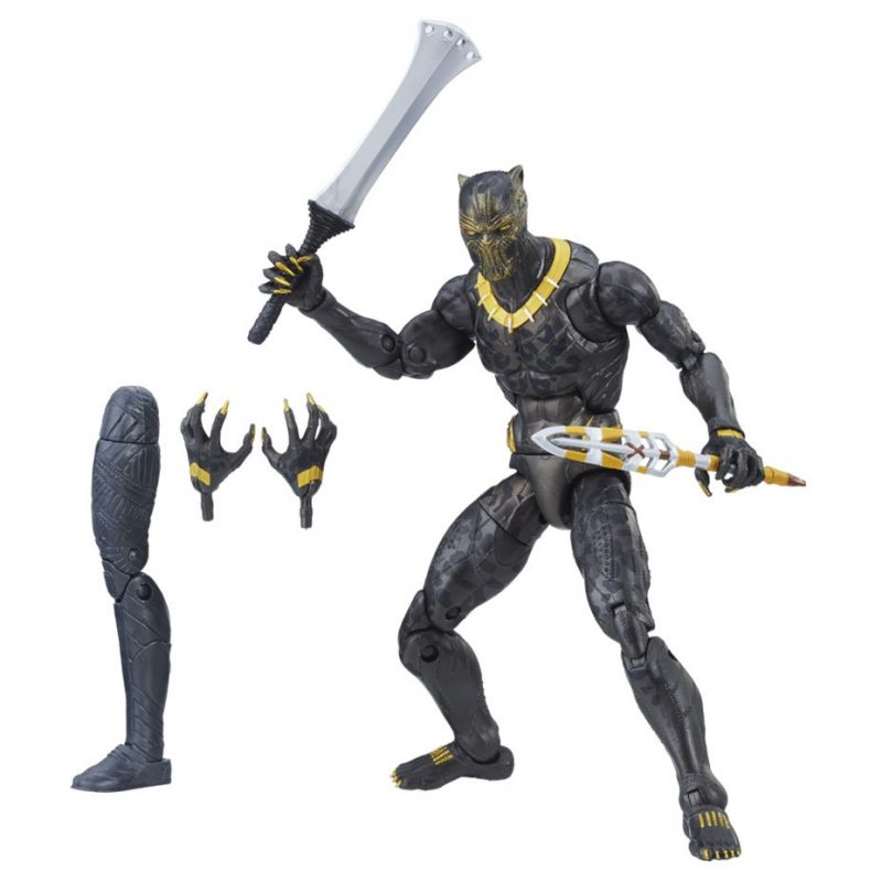 Check out six new pics from Hasbro's line of Black Panther toys
