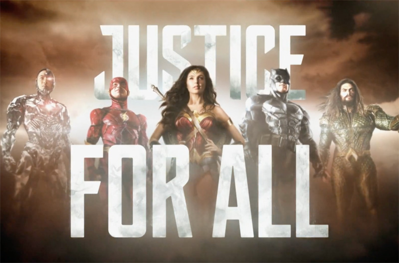 Justice League First Look from AT&T Online