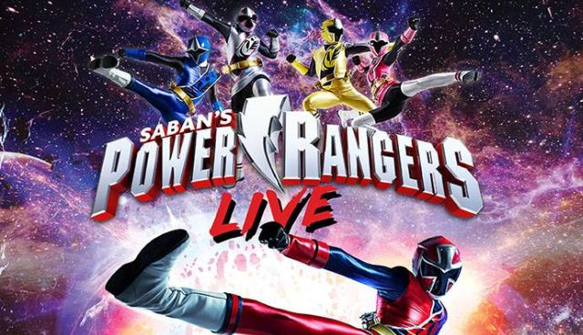 Power Rangers Live Touring Show Announced