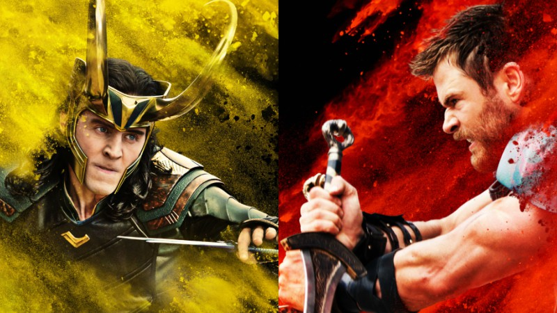 Thor and Loki Share a Brotherly Moment in Ragnarok Clip