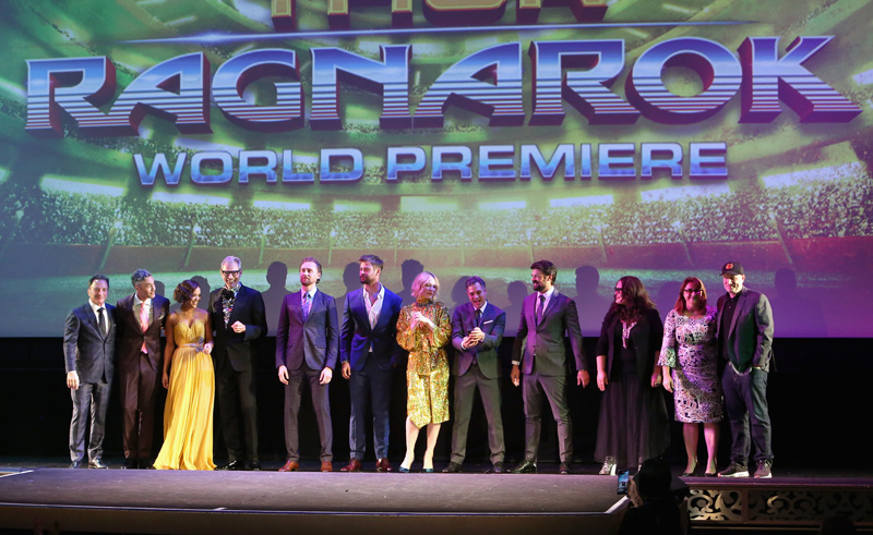 Thor: Ragnarok World Premiere Photos!