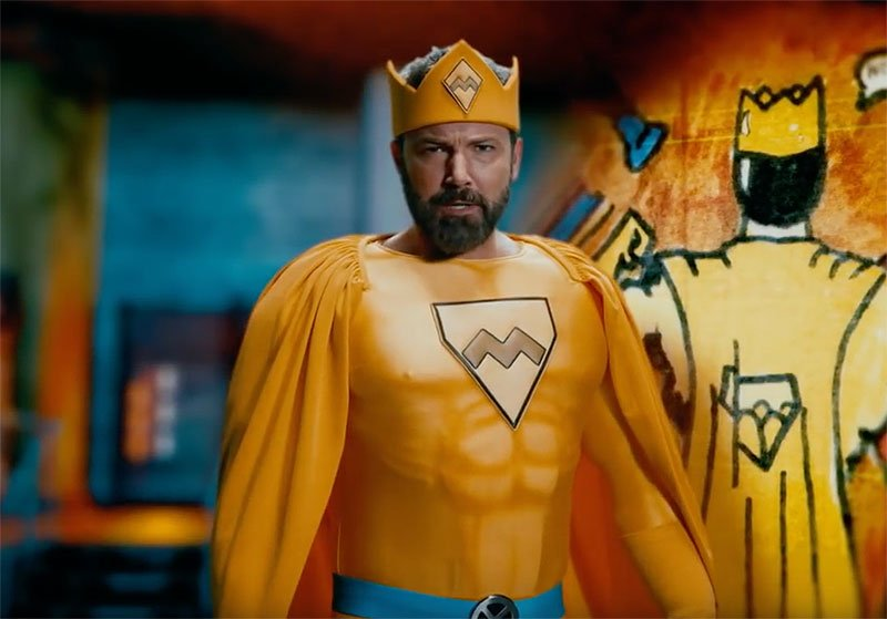 Ben Affleck, Matt Damon star in superhero short for Jimmy Kimmel's birthday