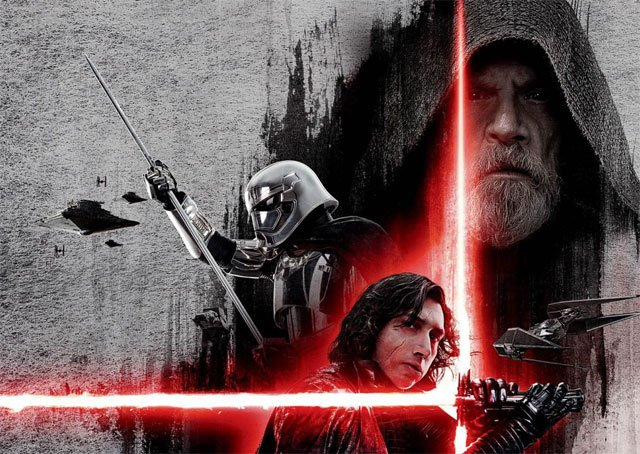 Dark Luke Teased in New Last Jedi International Poster