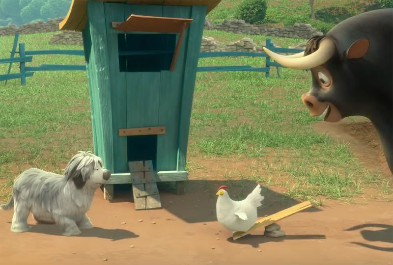 Ferdinand and a Dog Chat in New Movie Clip