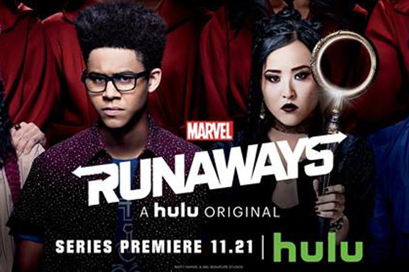 New Marvel's Runaways Banner for the Hulu Series